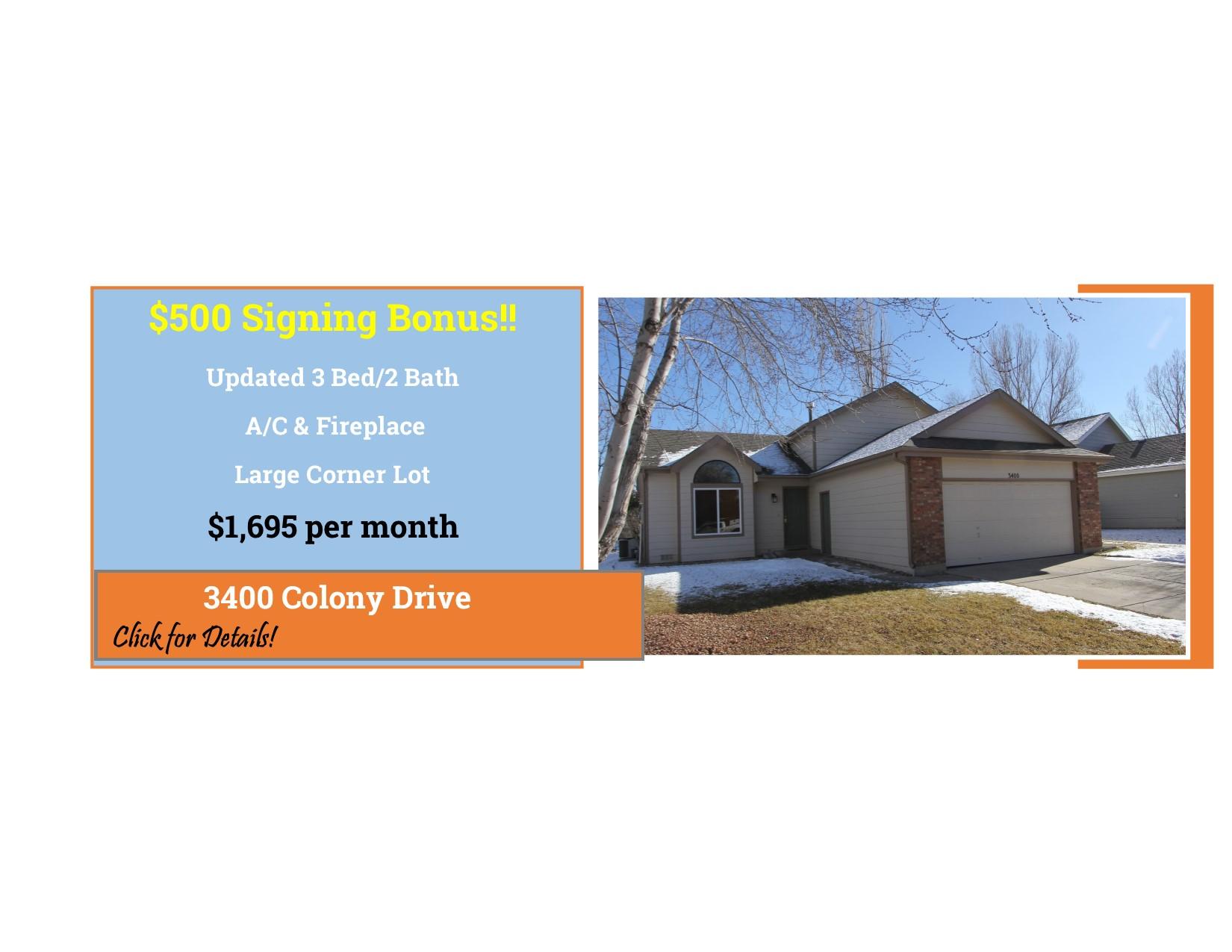 3400 Colony Drive