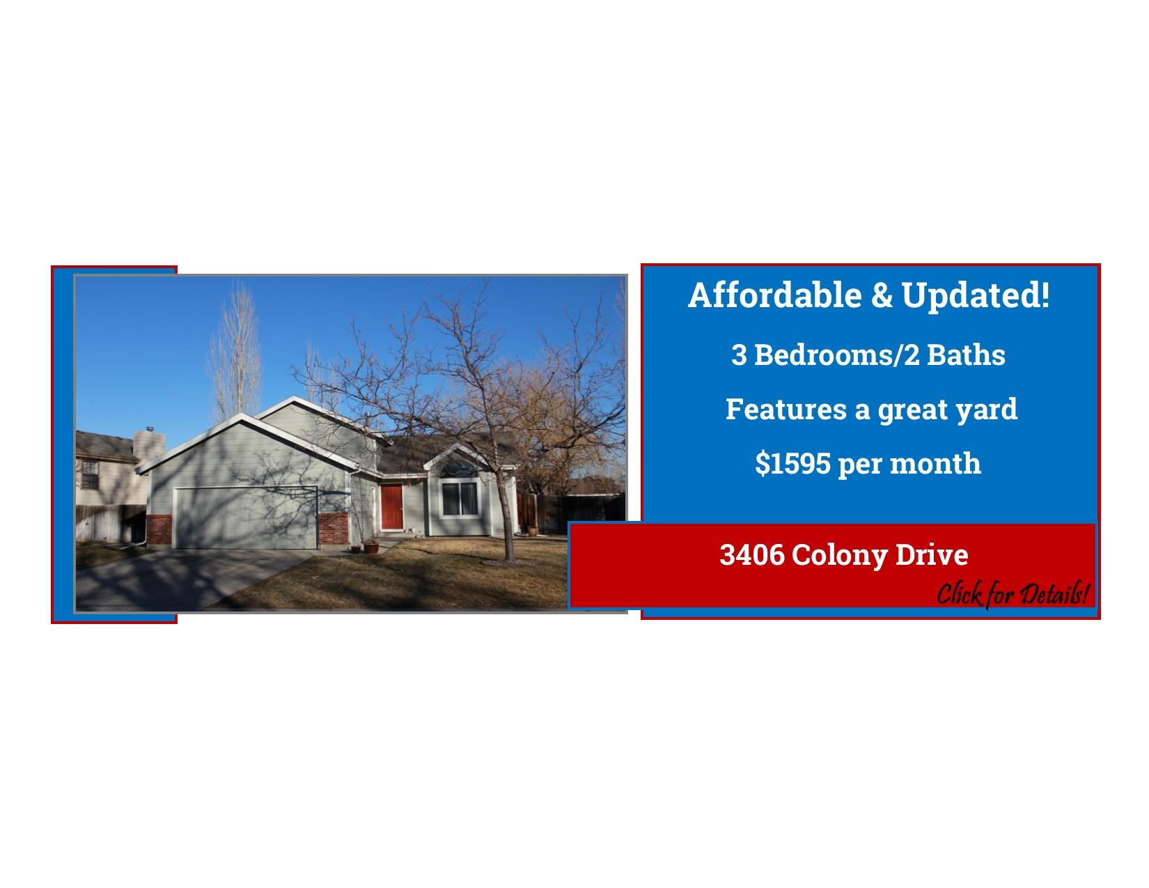 3406 Colony Drive